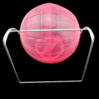 W1001 Small Animal Hamster Ball Silent Running Treadmill Wheel with Bracket
