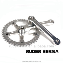 Ruder Berna Eightper Taiwan Made Fixie Track Fixed Gear Single Speed Silver Crankset