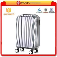 2015 New hard strong colorful aluminum trolley luggage with different styles
