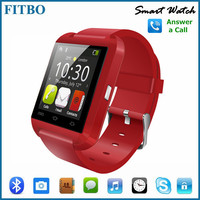 Bluetooth Sync Call ID Vibration Alert smart watch phone mq588 for huawei P10 plus Apple 7