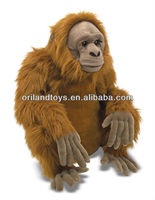 high quality smart long arms and legs monkey plush toy