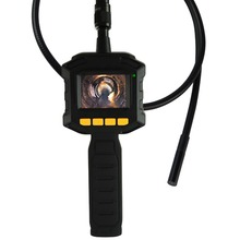 "Industrial 2.31"" TFT LCD 8mm Camera Video Borescope Endoscope 4 LED Lights AV Output SnakeScope 3FT Cable Surveillance Tool"