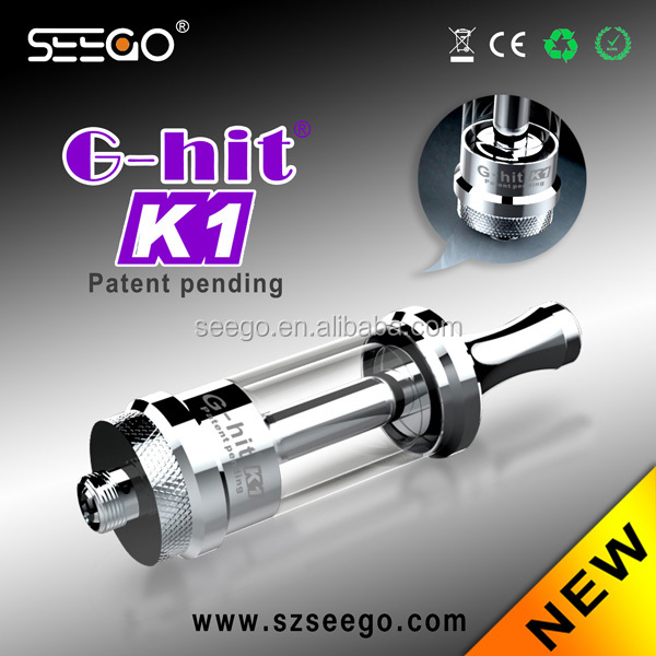 Cheap products in Alibaba!!! Seego G-hit K1 high end glass water pipes
