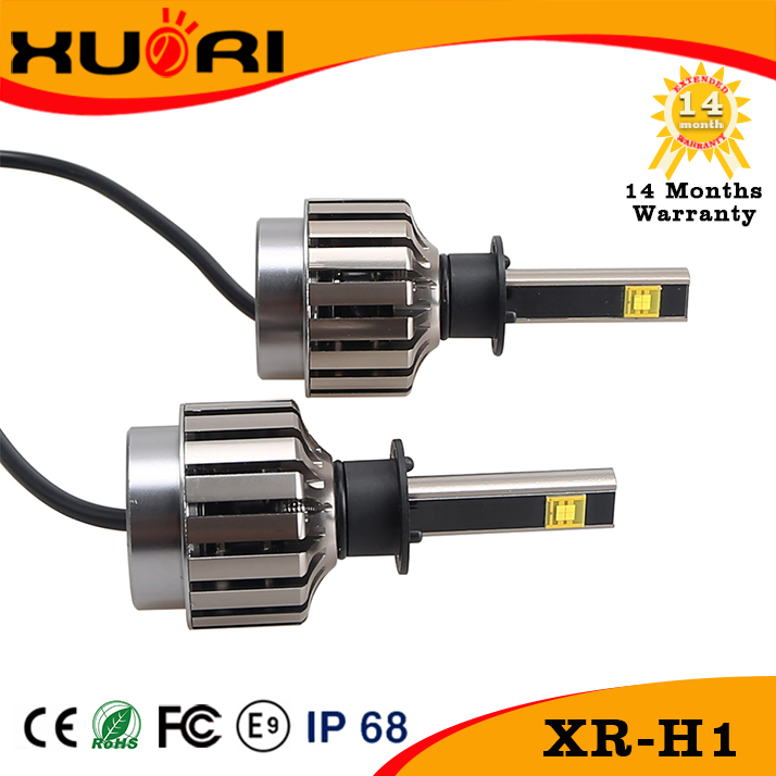 2107 hottest selling h1 led headlight conversion kit all in one design h4 h7 h11 h13 9005 9006 car head light bulb