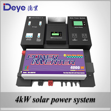 On/Off grid hybrid power system with UPS function 4kw Solar power system