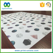 Cheap cost custom pattern printed strong stone paper weight