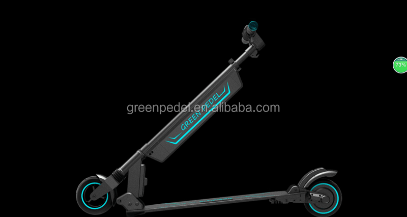 GP-R1 the most fashionable folding electric kick scooter with touch screen
