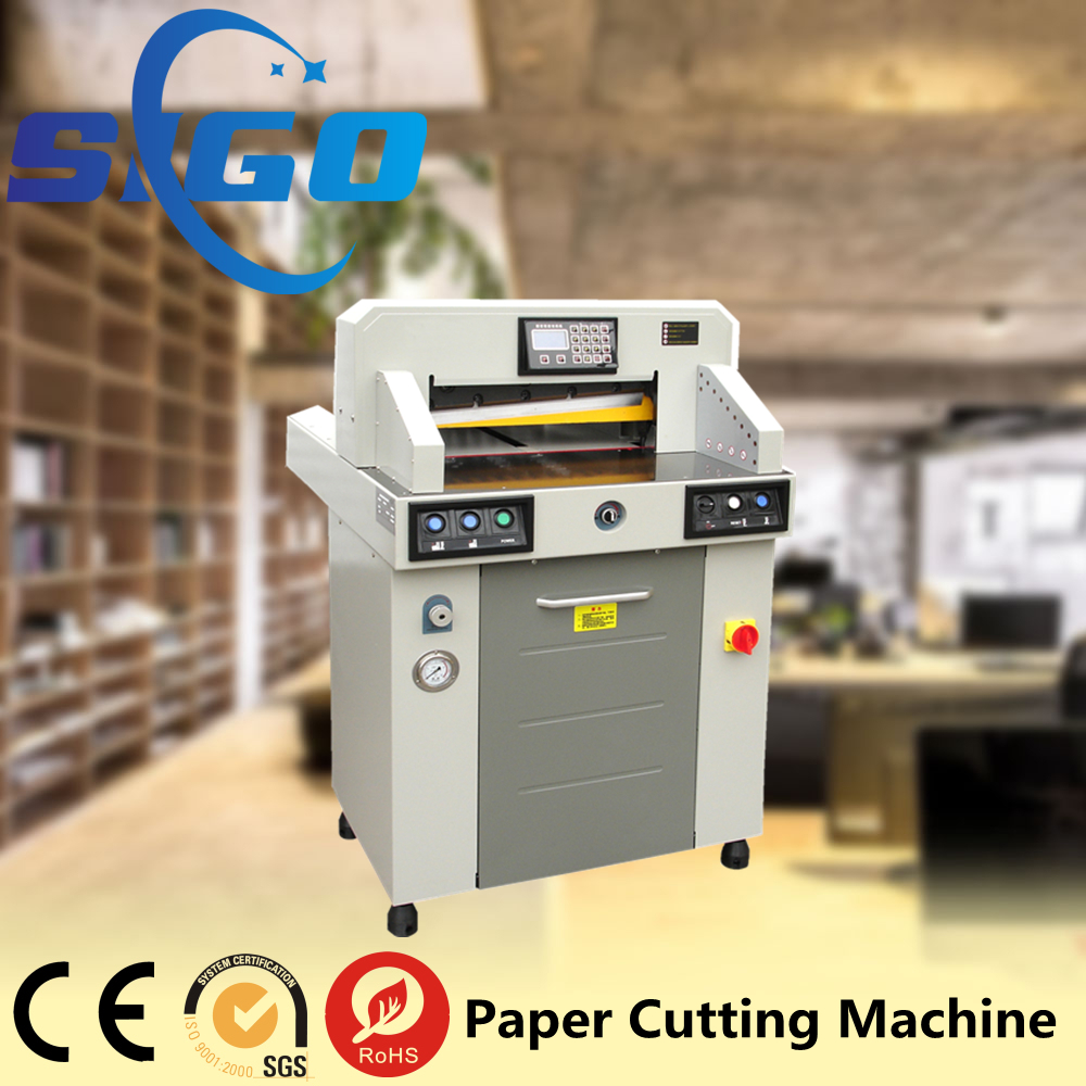 auto paper cutter cross cutting line
