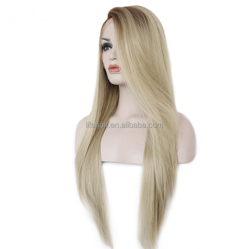 blonde hair with brown highlights full lace virgin raw hair