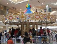 outdoor carousel horse rides for children