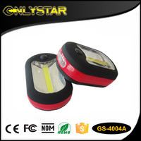 Onlystar GS-4004A mini portable 3 LEDs worklight magnet LED magnetic cob work light