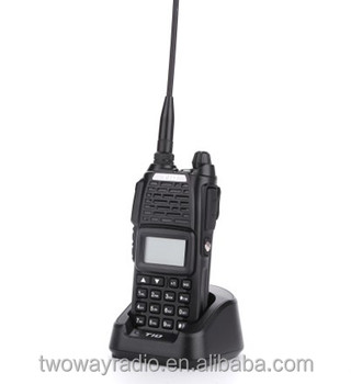 TD-V80 portable vhf uhf good quality 5w dual band walkie talkie