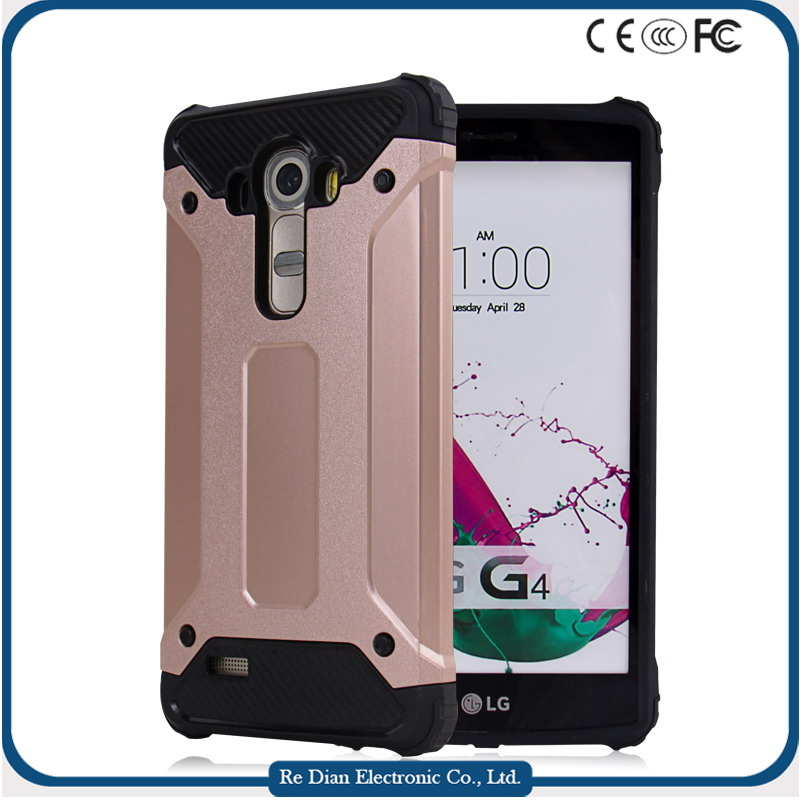 Hybrid Cell Phone Cover Handphone Hard Case for LG G4 VS986