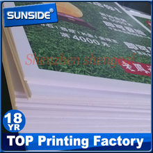 Factory price 3mm pvc foam board pvc laminated mdf board,die cut foam boardprinting for advertising V-0919