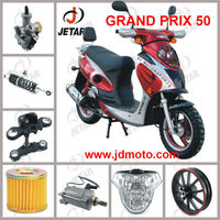 GRAND PRIX 50 motorcycle spare part & second hand items & convex mirror