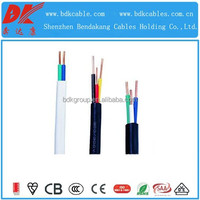 pvc insulated single core copper wire 450/750v 300 sq mm power cables electric power multi core wire