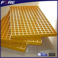 Professional FRP grating machine manufacture fiberglass plastic tree grate with cheap price