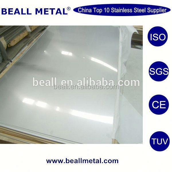 Best Stock 310 Mirror Polished Stainless Steel Sheet/Plate mde in china