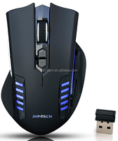 LED lighting Wireless 2.4G optical 6D computer mouse for Gaming