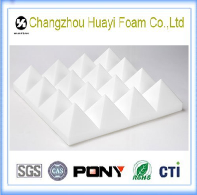 Good quality white melamine soundproof acoustic foam