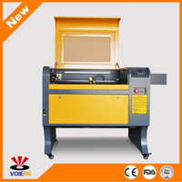 Wholesale!!!WR-4060 50W mdf board wood foam acrylic leather co2 laser engraving cutting machine for sale