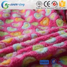 Professional wholesale blanket fabric with high quality ever-ivy