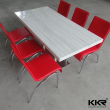 2017 new design Dining Table for Hotels and Restaurant/high quality furniture