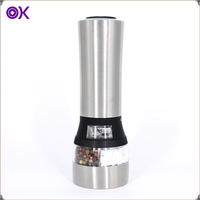 dual combo electric salt pepper mill grinder
