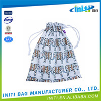 Top quality customized small cloth drawstring bag