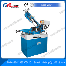 Horizontal Dual Miter Band Saw SBS 310 Workshop band saw offers high flexibility and frame swivels to both sides for dual miter