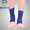 Knitted health care sport knitted ankle compression support sleeve
