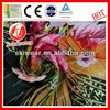 various pattern plaid silk dupioni fabric made in china