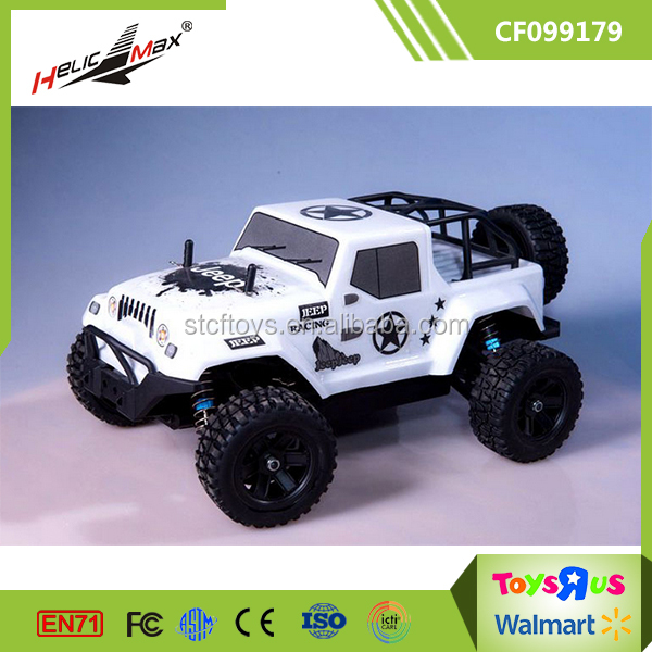 High Quality Monster Truck 2.4G Radio System Kids Battery Operated Cars with 7.4V 1500mah battery