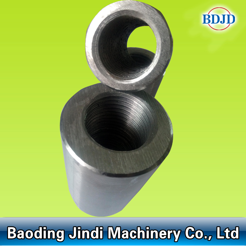 Building Material Steel Rod Parallel Threading Coupler for Splicing