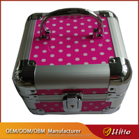 Professional Aluminum Hard Portable Beauty Carry Makeup Box