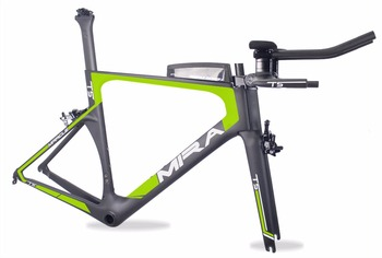 Chinese cheap OEM bike frame MIRACLE 2017 Carbon TT bicycle frame T700