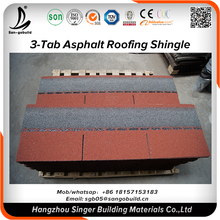 30KG/bundle 5.2mm thickness architectural laminated asphalt roofing shingle for commercial house