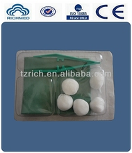 Medical Basic Dressing Set(surgical) for wound care and operation with ISO13485 and CE