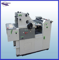 Single color invoice offset printing machine, Mini offset press