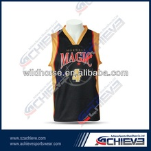high quality custom basketball jerseys/top/shirt