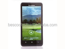 New Lenovo A766 5.0 Inch Smartphone Android 4.2 MTK6589 Quad Core 3G GPS IPS Screen mobilephone alibaba china