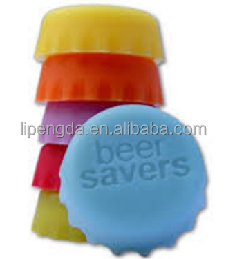 Latest Fashion Bulk Cheap Eco-Friendly Silicone Bottle Caps, silicone rubber bottle cap seal