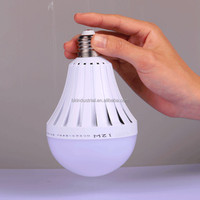 New York led bulb emergency rechargeable solar led emergency light