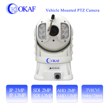 H.264 20x Optical Zoom Vandal-Proof Water-Proof IP/SDI/AHD/Analog IR dome ptz ip camera for police