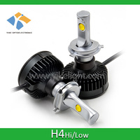 Auto led h4 high beam 48w and low beam 24w with 6000lumen