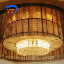 Special Architectural Metal Mesh Drapery For Partition Screen