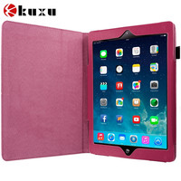 Customize Hot Pink Folio Pouch Case Cover Stand for Apple iPad Air/iphone4 4s 5 5s 6 6plus