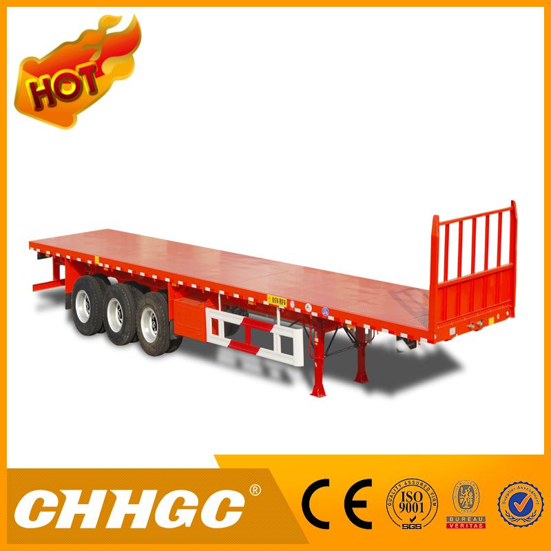 LOW PRICE flat bed container chassis with high quality