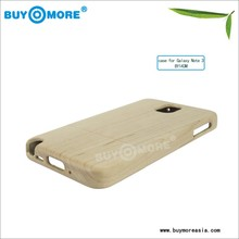 fancy wood and bamboo case for samsung galaxy note 2