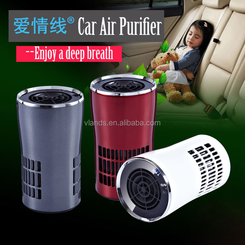Smart design electronic Air Purifier with air quality,Anion HEPA Air Purifier with control
